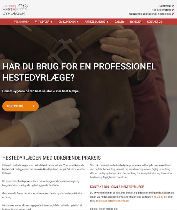 Hillerød Hestedyrlæger / Dyrlægegården