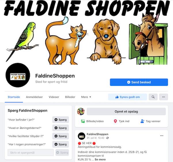 FaldineShoppen